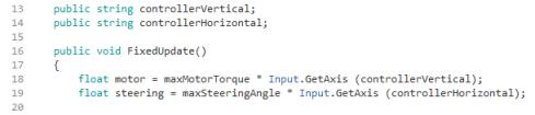 Controller Scripting